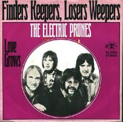 Finders Keepers, Losers Weepers 45 rpm released in Europe