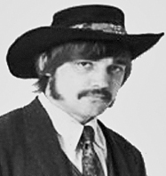 "Pete ""Mr Pedro"" Wyant in 1968"