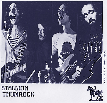 The original 4 - Stallion Thumrock 1971 at the Pender Auditorium