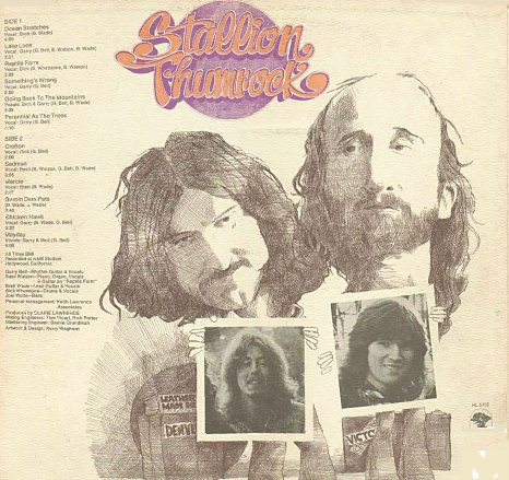 Stallion Thumrock Album 1972