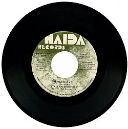 Stallion Thumrock's 45 rpm release on Haida Records in 1972