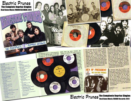 Electric Prunes - The Complete Reprise Singles - Reissued 2012 - damprock.com